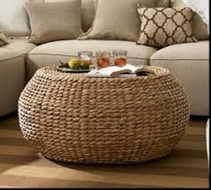 round living room table rattan round coffee table foter