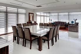 large glass dining room table dining room table