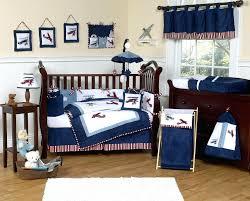 Chevron Boy Crib Bedding Navy Crib Bedding Set
