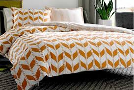 camo and orange bedding sets