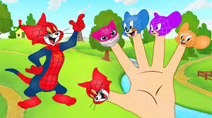 tom jerry spiderman fingers suit characters