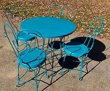 ice cream parlor table and chairs set ice cream table ebay
