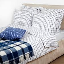 American Duvet Covers Buy Lexington American Country Pinpoint Check Duvet Cover Navy