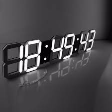 remote control digital led wall clock made of millions remote control led digital wall clock