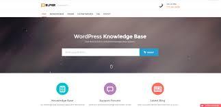 helper knowledge base support wordpress template zim templates