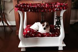 dog beds made out of end tables thrifty and nifty end table turned dog bed