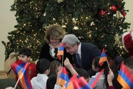 president serzh sargsyan and mrs rita sargsyan on the occasion of