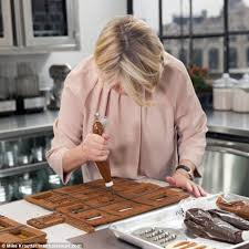 martha stewart recreates downton abbey mansion with cookies and