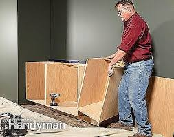Handyman Kitchen Cabinets Picture 5 Of 35 How To Build Kitchen Cabinets Free Plans Best Of