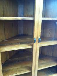 Pine Corner Hutch Gorgeous Antique American Primitive Pine Corner Cabinet Cupboard