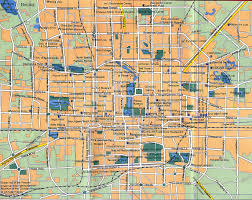 Detailed Map Of China by Maps Of Beijing Detailed Map Of Beijing City In English Maps
