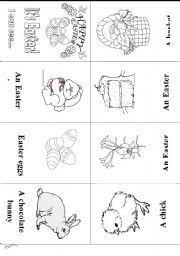 esl worksheets for beginners easter mini book