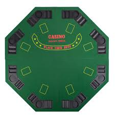 poker table top and chips poker gamble games octagon black 48 casino chips cards holdem