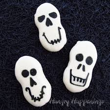 halloween edible crafts quick and easy halloween treats nutter butter skulls hungry