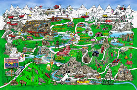 Colorado Springs Trail Map by Maps Clear Creek County Colorado