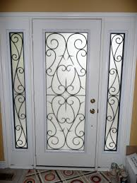 lead glass door inserts white wooden frame painted with white color for single glass front