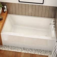 Maxx Bathtub Maax Rubix 6632 Acrylic Soaking Bathtub 66