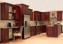 cherry cabinet kitchen design ideas