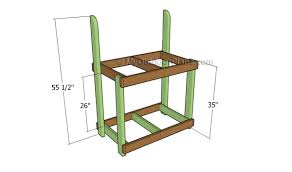 how to build a potting bench myoutdoorplans free woodworking