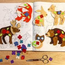 Animal Ornaments Woodland Christmas Ornaments U2014 Heidi Boyd