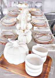 Fall Table Settings Simply Fall Table Setting Whiteaker
