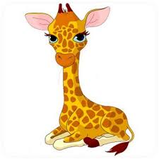 stickers girafe chambre bébé sticker bébé girafe un autocollant pour chambre enfant et bébé