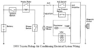 1993 toyota air conditioning electrical system wiring 100 images