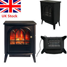 1850w fire place log burning flame effect stove heater electric