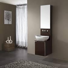 floating bathroom sink cabinets corsano vessel sink vanity