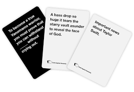 words against humanity cards cards against humanity this we not laughed that