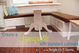 Kitchen Banquette Seating by Impressive Diy Banquette 115 Diy Banquette With Storage Finished