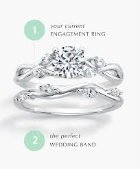 with wedding rings wedding and anniversary rings brilliant earth