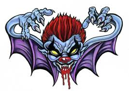 evil clown tattoo design for men photo 2 photo pictures and