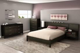 nightstands headboard with nightstand built in platform bed with