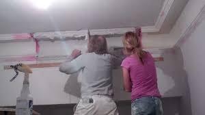 rebuilding plaster moulding