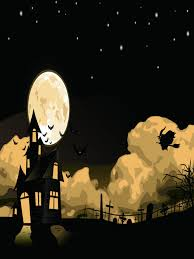 halloween backdrop photography only 25 00 photography backdrop moon witch halloween background