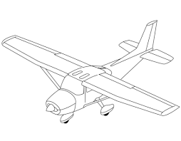 light aircraft coloring free printable coloring pages