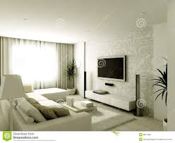 modern design interior of living room stock illustration image