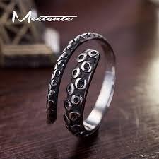 metal octopus ring holder images Meetcute cool pirates of the caribbean titanium steel open rings jpg