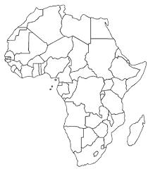 Empty World Map Africa Map Part 121