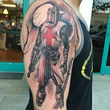 tattoo designs knights templar crusader black and gray tattoo junior garcia tattoo palmdale ca