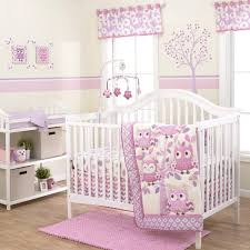 Crib Bedding Sets Owl 3 Crib Bedding Set Walmart