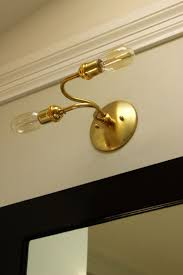 Brass Bathroom Lighting Fixtures by The 25 Best Industrial Bathroom Fixture Parts Ideas On Pinterest