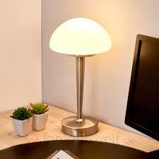 Schlafzimmer Tischlampe Formschöne Tischleuchte Touch Kaufen Lampenwelt De