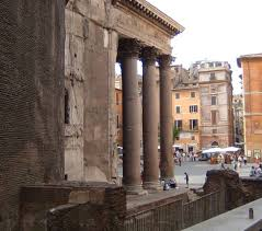 the pantheon originally agrippa built a temple on this site as can