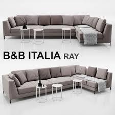 3d sofa b and b italia ray cgtrader