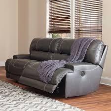 Power Recline Sofa Mccaskill Gray Power Reclining Sofa Signature Design Furniture Cart