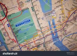Subway Map Of New York by New York August 29 Subway Map Stock Photo 152002571 Shutterstock