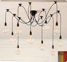 pottery barn light bulbs edison chandelier from pottery barn this link also shows a diy