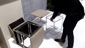resource furniture ottoman turns into five chairs youtube